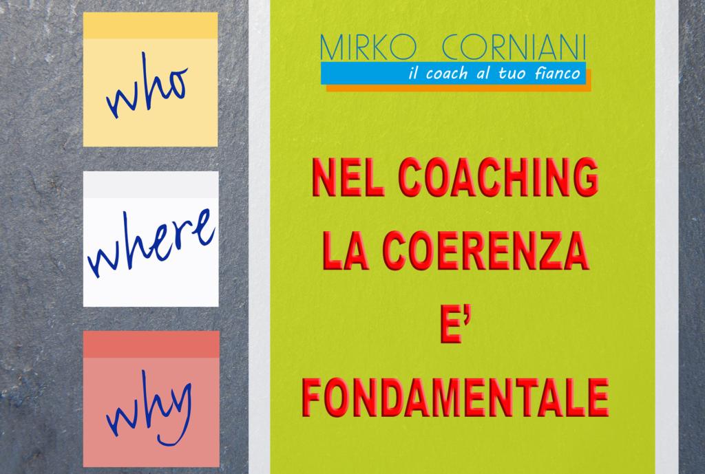 Mirko Corniani Coach l'importanza della coerenza